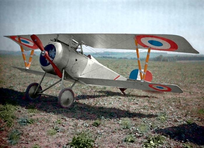 Один из лучших истребителей Первой мировой войны в 1917 году.