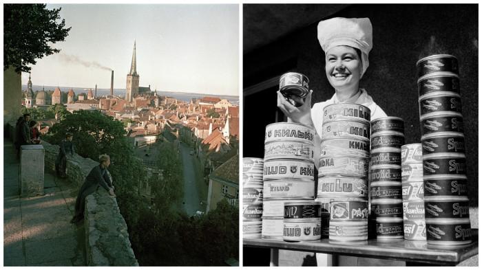Ретро фотографии, сделанные в 1960-х годах в Советской Эстонии.