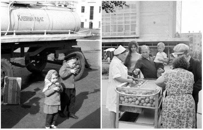Фотографии из повседневной жизни советских людей.