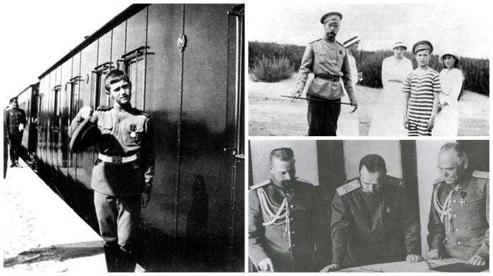 Уникальные фотографии, сделанные во время путешествия царской семьи в Могилев