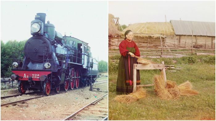 Колоритные фотографии Прокудина-Горского, сделанные в начале XX века.