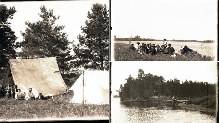фотографии, сделанные во время экспедиции  по реке Конда