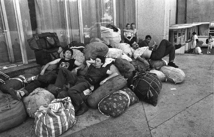 Фотографии, сделанные в России после распада СССР.