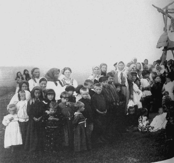 Катание на релях на Пасху. Тамбовская губерния. Кирсановский уезд, 1904 (2)