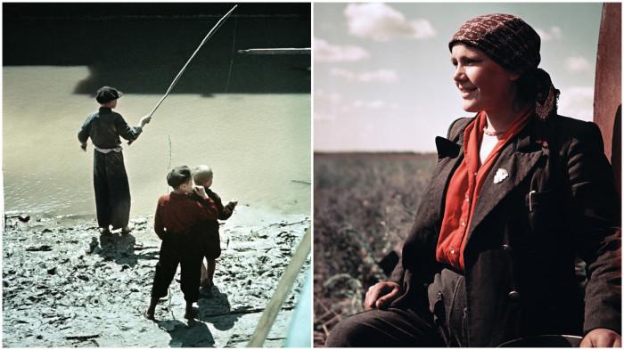 Фотографии из жизни людей в СССР.