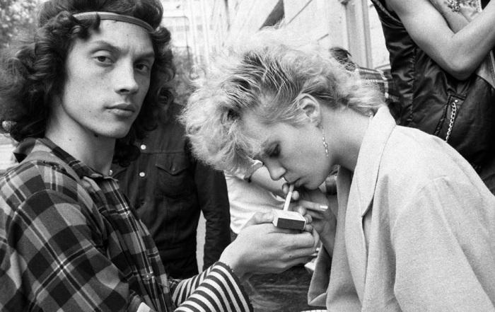 Фотографии из жизни советской молодежи в 1980-х годах.