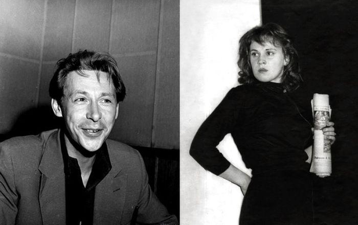 Олег Ефремов и Лилия Толмачева.