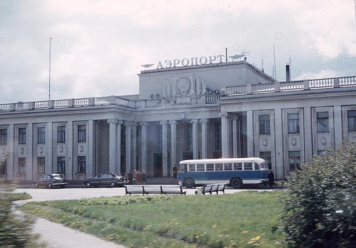 Международный аэропорт Шоссейная. СССР, Ленинград, 1959 год.