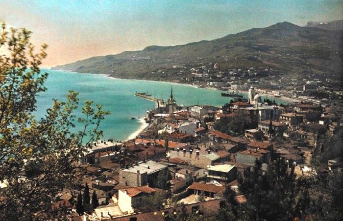 15 колоризированных фотографий Крыма, сделанные в 1925 году