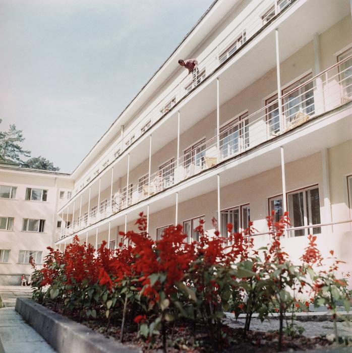 Корпус оздоровительного комплекса в Таллине. СССР, Эстония, 1960-е годы.