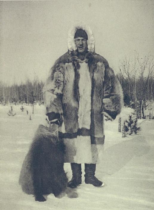 Молодой охотник из заполярных кочевников Сибири. Начало 20 века.