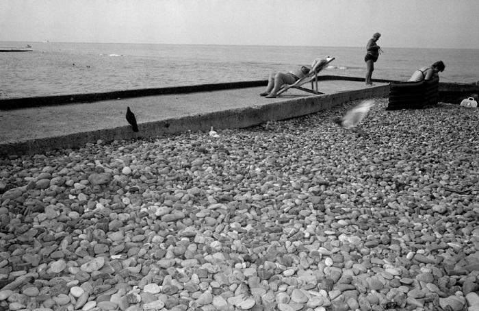 Ретро фотографии Карла Де Кейзера, сделанные в Сочи в 1988 году.