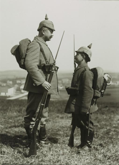 Памятная фотография перед отправлением на Западный фронт.