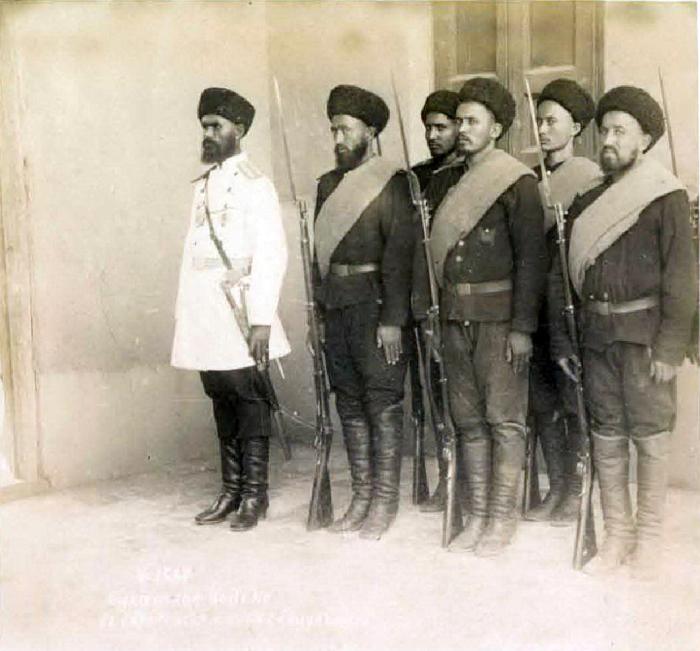 Бухарское войско. Середина 19 века.