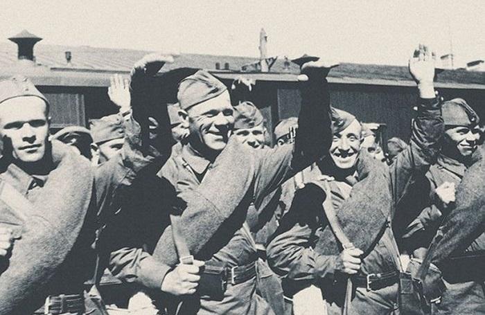 Уникальные фотографии, сделанные в начале Великой Отечественной Войны.