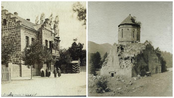 Фотографии, сделанные во время путешествия по Ахалцихе в 1897 году.