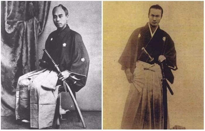 Фотографии потомственных самураев, которые были элитой войск средневековой Японии.
