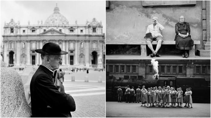 Удивительные черно-белые фотографии с объектива неизвестного фотографа.