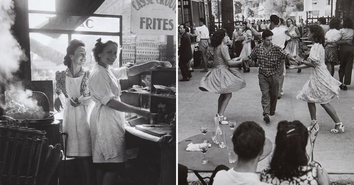Уникальные ретро фотографии, сделанные французским фотографом Вилли Рони.