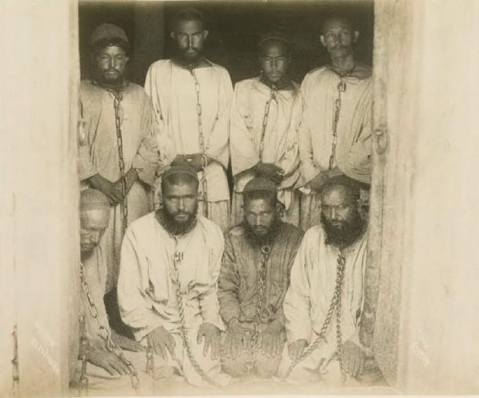 Колодники. Бухара, середина 19 века.