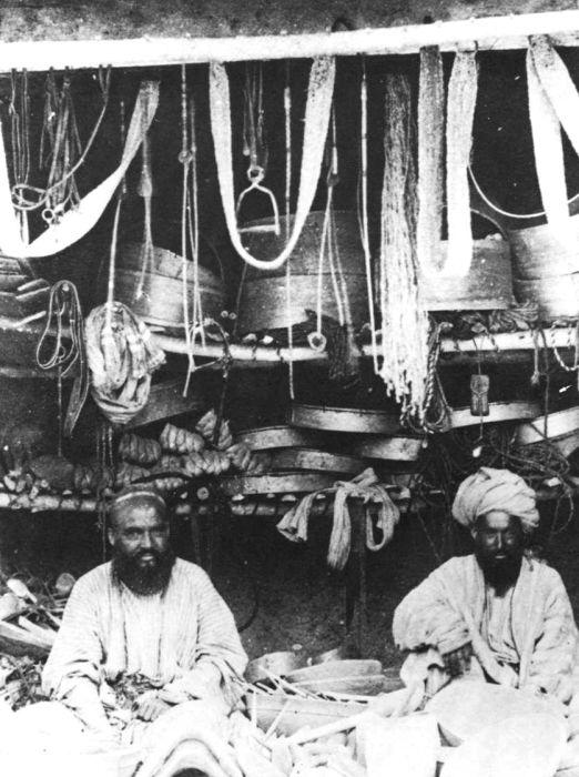 Туркестанские торговцы. Конец 19 века.