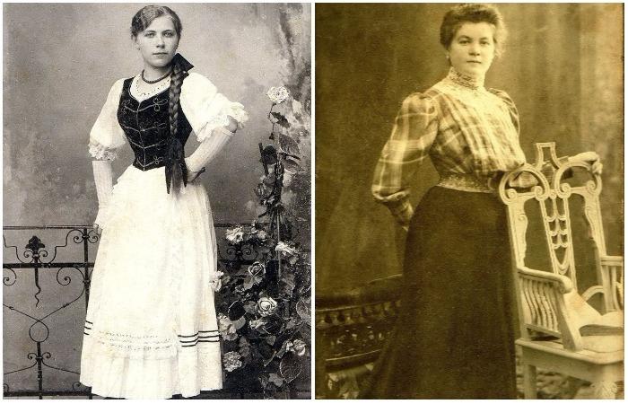 Ретро портреты венгерских красавиц начала ХХ столетия.