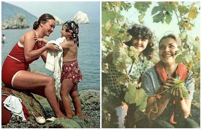 Чувственные фотографии советских девушек и женщин.