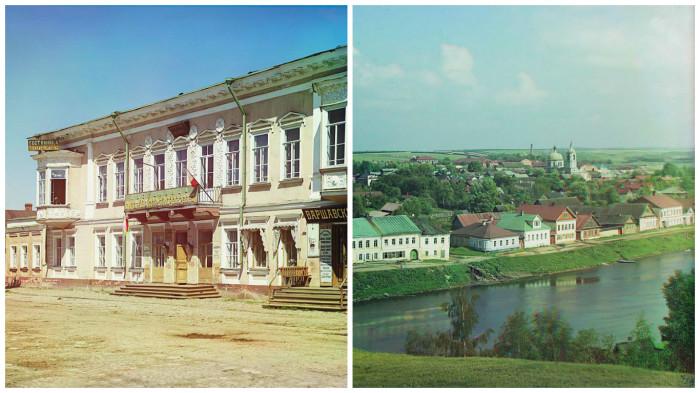 Фотографии, сделанные во время путешествие Прокудина-Горского по Торжку.