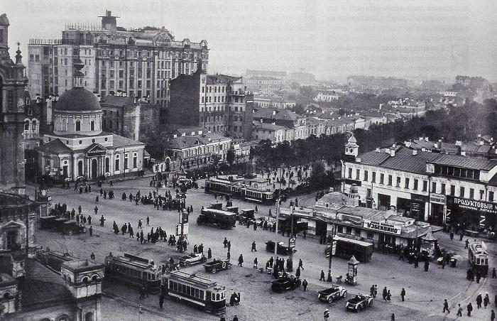 Редкая коллекция фотографий Москвы, которые были сделаны в 1920-е годы.