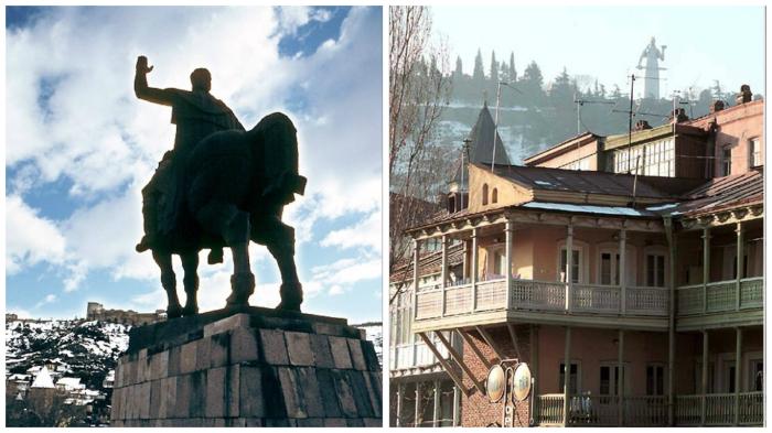 Путешествие по Тбилиси.