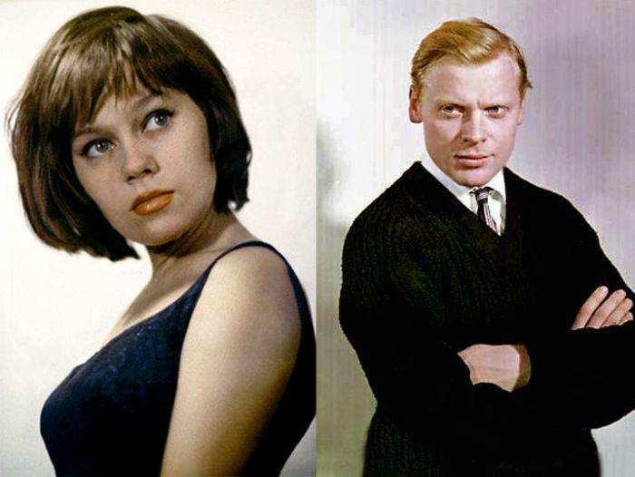 Портретный снимок Нины Дробышевой и Виталия Коняева.