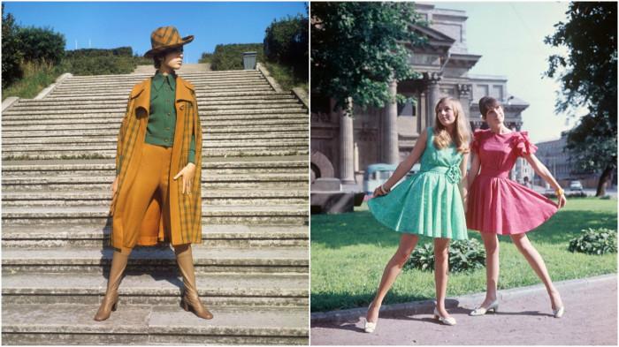 Советская мода на колоритных фотографиях 1960-х и 1970-х годов