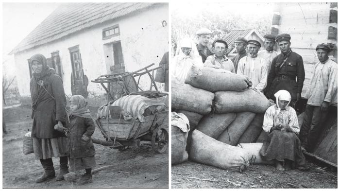Жизнь украинских крестьян в первой половине 1930-х.