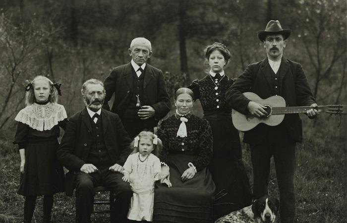 Германия в первой половине XX века в объективе Августа Зандера.