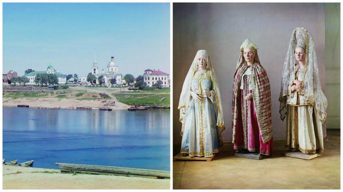 Фотографии, сделанные во время путешествия Прокудина-Горского по Твери.