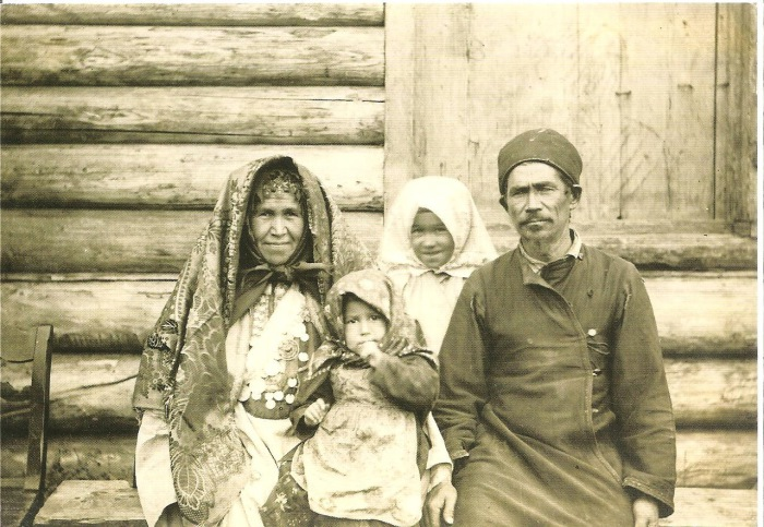 Башкиры. Осинский уезд, Пермская губерния, начало XX века.