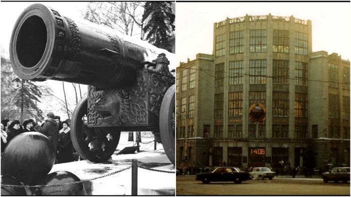 Фотографии, сделанные во время путешествия иностранца по Москве.