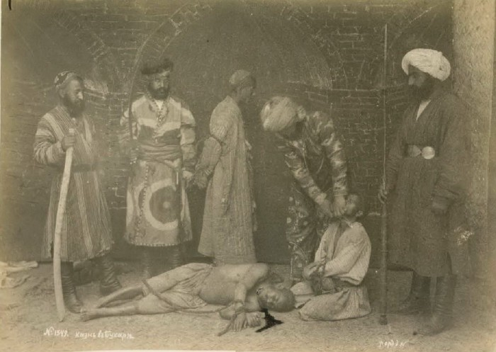 Казнь. Бухара, середина 19 века.