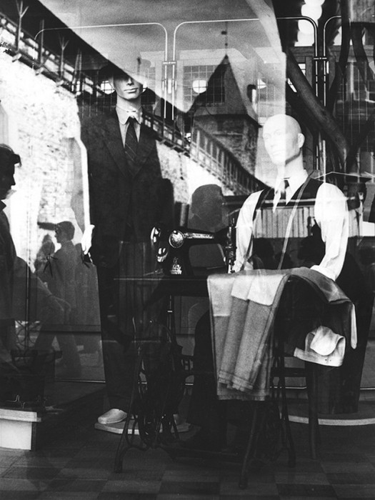 Витрина магазина. СССР, Таллин, 1985 год.
