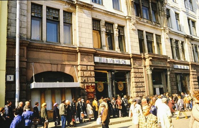 Фотозарисовки из Москвы в 1985 году.