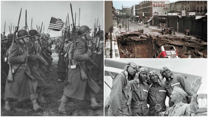 Вторая мировая война на редких фотографиях от журнала LIFE.