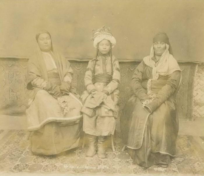 Бухарская невеста. Середина 19 века.