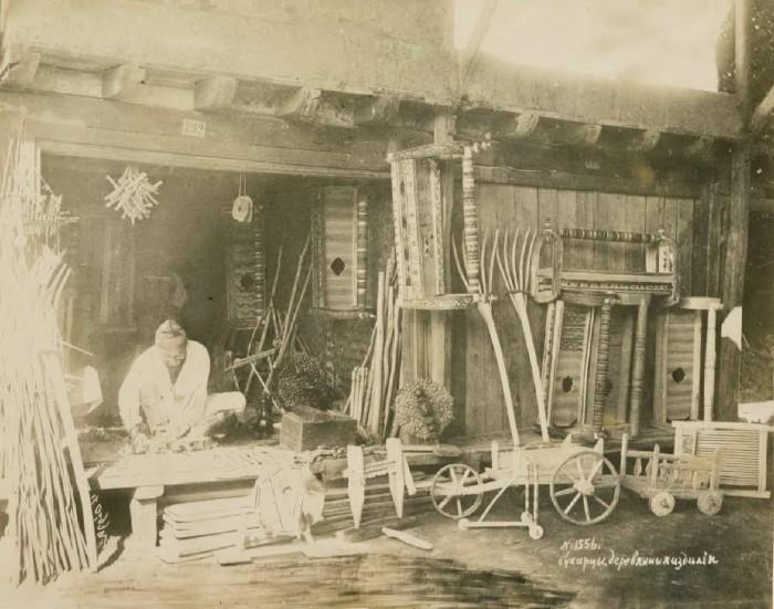 Деревянные изделия. Бухара, середина 19 века.