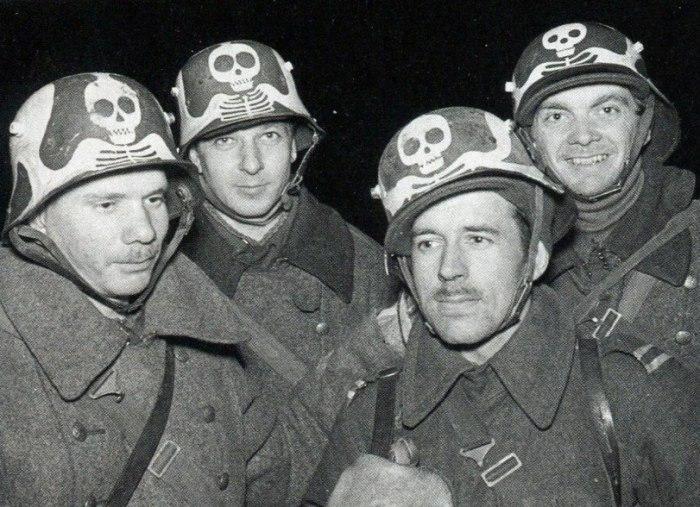 Финские солдаты во время советско-финской войны в 1940 году.