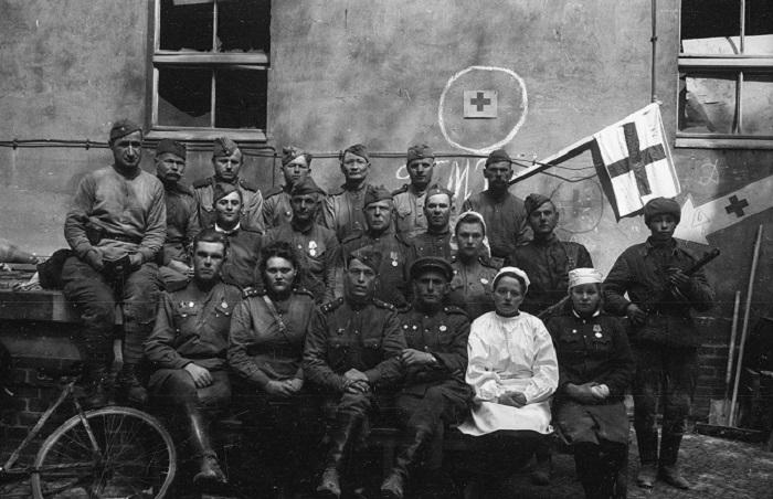 Великая Отечественная война в объективе Валерия Фоминского.