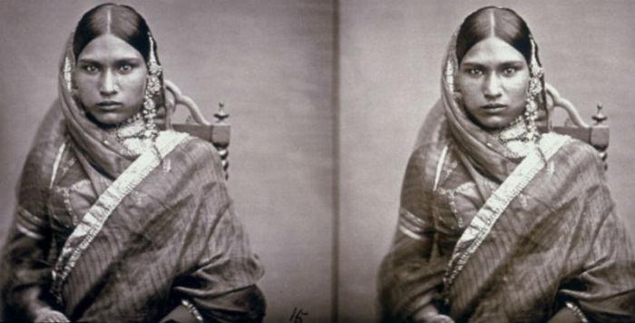 Редкий снимок, который был сделан самим махараджей Рамом Сингхом II.