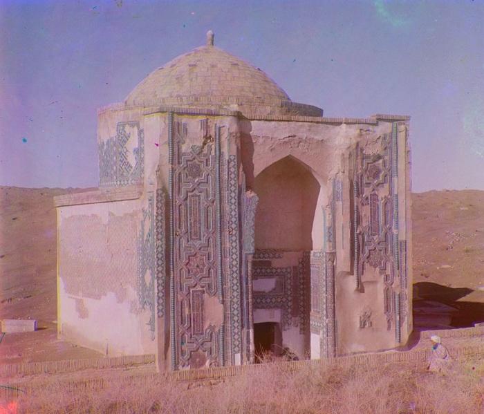 Амазар на горе у Шах-Зинде. Самарканд, начало 20 века.