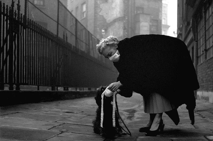 Великий смог - серьёзное загрязнение воздуха, произошедшее в Лондоне в декабре 1952 года. Во время антициклона, принёсшего холодную и безветренную погоду, загрязняющие вещества собрались над городом, образовав толстый слой смога.