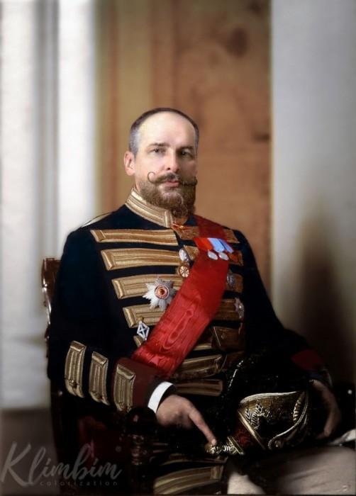 Портретный снимок Столыпина в 1908 году.