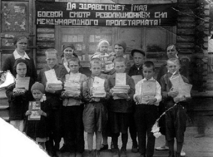 Образование для всех впервые в мире дала Советская Власть.
